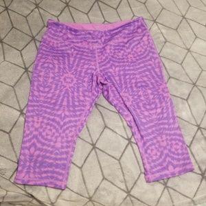 💜 2 for $25 Zella Pink and Purple Crop Leggings
